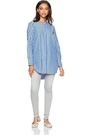 French Connection Women's Sophia Stripe S/V Slv Pop Ovr Blouse