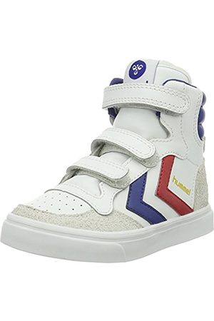 Hummel Unisex Kids' Stadil Jr Leather High Hi-Top Sneakers