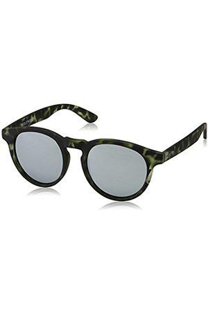 Unisex Adults' Hathi Silver Green Sunglasses