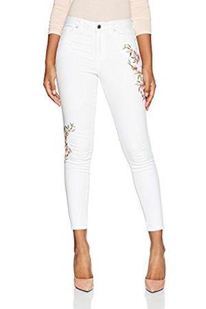 Miss Selfridge Women's Embroidered Lizzie Skinny Jeans