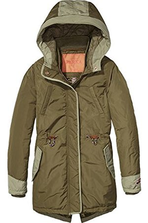 Scotch&Soda R'Belle Girl's Mit Kapuze Shell Parka Jacket