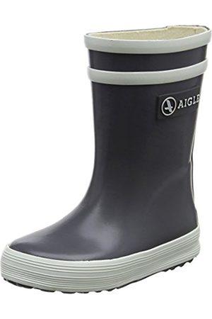 Aigle Eagle Baby Flac, Mixed Rain Boots Child - Gray (Charcoal)