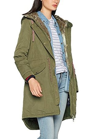 Tommy Hilfiger Women's Cynthia Cotton Parka (Dark Olive)