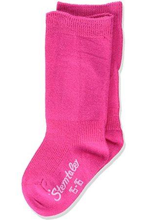 Sterntaler Baby Girls' Kniestrümpfe DP uni Calf Socks