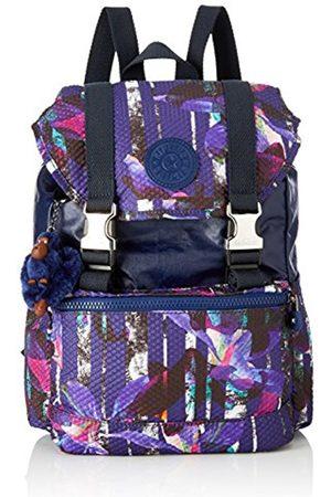 Kipling Experience S, Women's Backpack, Mehrfarbig (Urban Flower Bl)