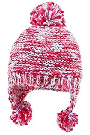 maximo Girl's Inkamütze Mit Pompon, Fleecestreifen Hat