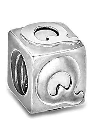 Sterling Q Cube Bead