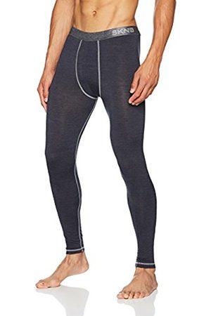 Skiny Men's Active Wool Pant Lang Thermal Trousers