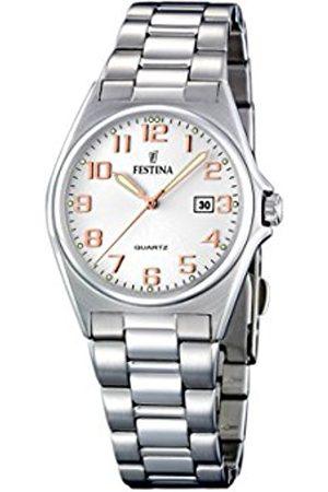 Festina Women's Quartz Watch F16375/7 with Metal Strap