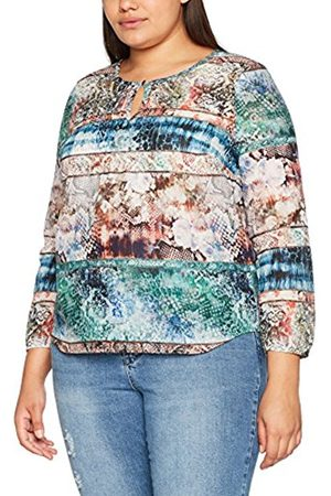 GINA LAURA Women's Tunika, Patchdruck Allover Blouse