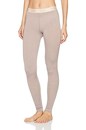 Skiny Women's Active Wool Leggings Lang Thermal Trousers