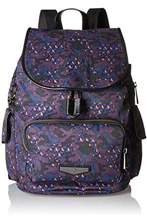 Kipling City Pack S, Women's Backpack, Mehrfarbig (Soft Camo)