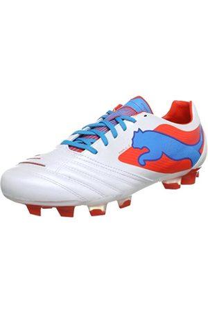 Puma PowerCat 2 FG Football Shoes Mens Weiß (metallic - .com 02) Size: 7 (41 EU)