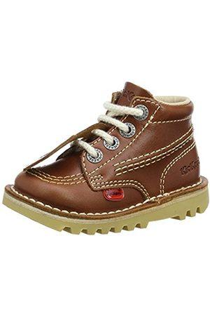 Kickers Kick Hi I Core, Unisex Kids' Ankle Boots, (Dark Tan)