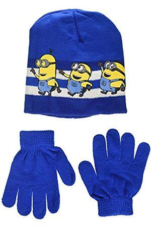 Universal Boy's Minion Team Run Hat and Glove Set