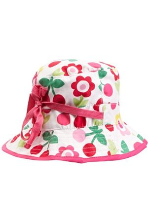 Toby Tiger Cherry Flower Reversible Sunhat Baby Girl's Hat 6-12 Months