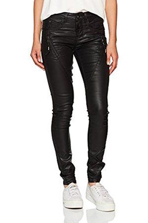 Cream Women's Coated Skinny Jeans