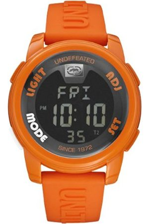 Marc Ecko Unisex Digital Watch with Dial Digital Display and Silicone Strap E07503G9