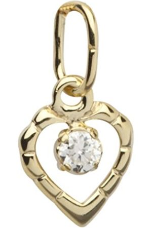 InCollections Women's and Children's Pendant 333 / 000 Gold with Zirconia Heart 0020100007401