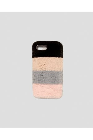Zara MOBILE PHONE CASE WITH CONTRASTING TEXTURE