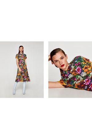 070189997f Zara dresses summer casual women's midi dresses, compare prices and ...
