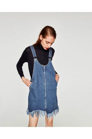 0be707bebe ASYMMETRIC PINAFORE DRESS