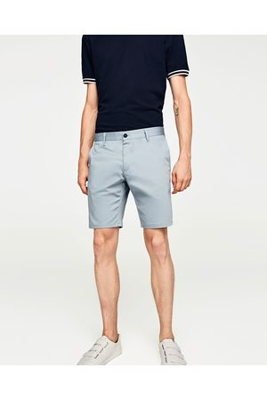 Zara SOLID-COLORED BERMUDA SHORTS - Available in more colours