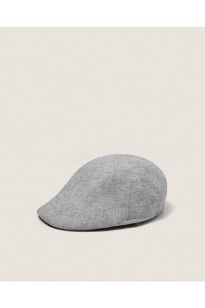 Zara FAUX LINEN CAP - Available in more colours