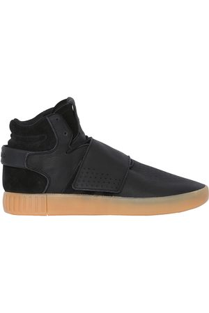 !Solid TUBULAR INVADER STRAP MID TOP SNEAKERS