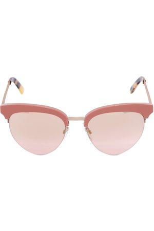 N?R Silver & Pink Alchemy Micro Sunglasses 5mcCnxb