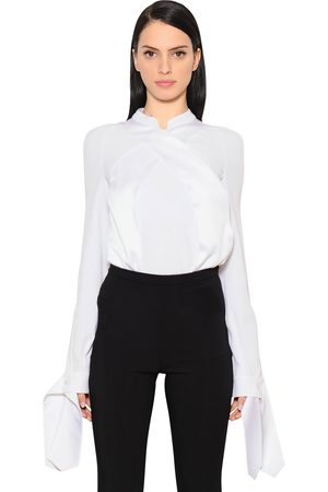 Women Shirts - ANTONIO BERARDI CROSSOVER ENVERS SATIN SHIRT