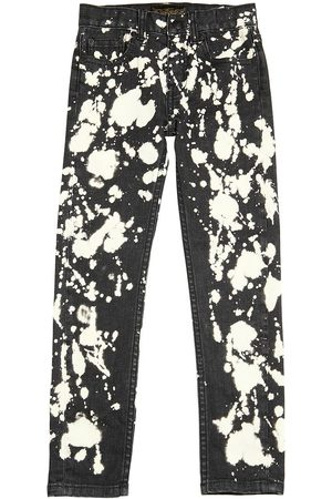 Girls Trousers & Jeans - Finger in the Nose PRINTED STRETCH DENIM JEANS