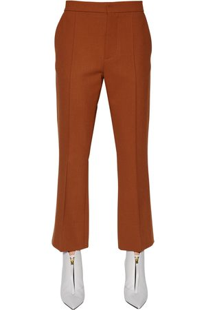 Women Formal Trousers - Marni DOUBLE VISCOSE & WOOL BLEND PANTS