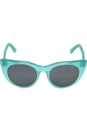CAT EYE SHAPE ACETATE SUNGLASSES