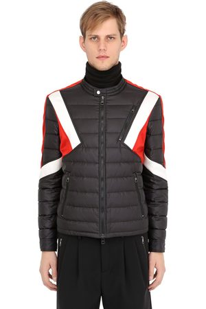 Men Jackets - Neil Barrett MODERNIST INSERTS NYLON PUFFER JACKET