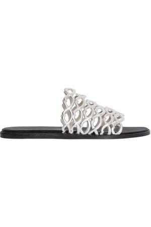 GIANNICO 10mm Sofia Metallic Leather Sandals