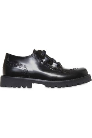 Brogues & Loafers - Dolce & Gabbana LEATHER DERBY LACE-UP SHOES