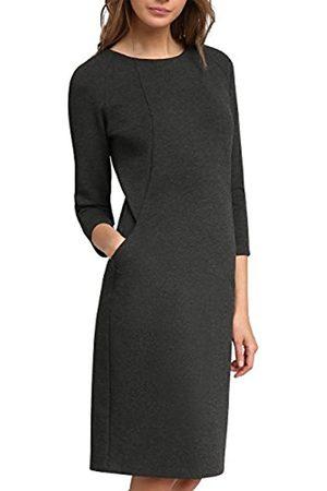 APART Fashion Women's Shades Grey-Black-Cream Dress