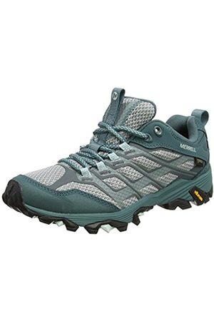 Merrell Women's Moab Fst Gtx Low Rise Hiking Boots, Blue (Sea Pine)