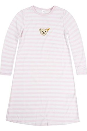 Steiff Girls 0006578 Nightdress 1/1 Striped Long Sleeve Top