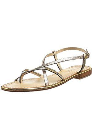 Les Tropéziennes par M Belarbi Women's Monaco Fashion Sandals Gold Or (Or/Serpent) 3.5