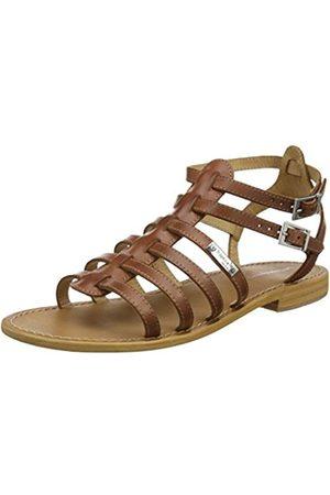 Les Tropéziennes par M. Belarbi Les Tropéziennes par M Belarbi Womens Sandals Marron (Tan) Size: 5