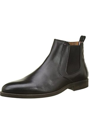 Tommy Hilfiger Men's Essential Leather Chelsea Boots