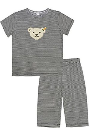 Steiff Girl's 0006533 2Pcs Playsuit Clothing Set, Marine)