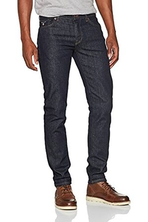 GANT Men's Slim Straight Jeans (Dark )
