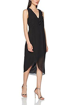 Sisley Women's Midi Asymmetric Hem Party Dress