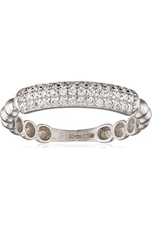 Citerna 9 ct Gold Half Eternity Ring with Bubble Design