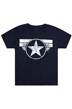 Marvel Boy's Cap Logo T-Shirt