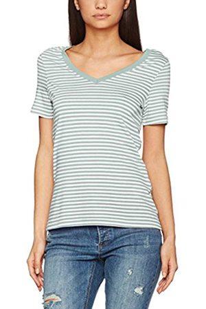 Vero Moda Women's Vmmarley Stripe Ss V-Neck Top Jrs .