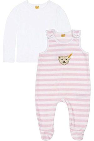 Steiff Unisex Baby 0002855 Strampler & T-Shirt 1/1 Arm Crew Neck Long Sleeve Clothing Set